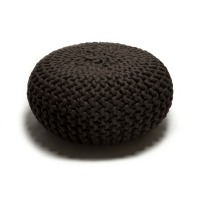 urchin pouf medium .brown