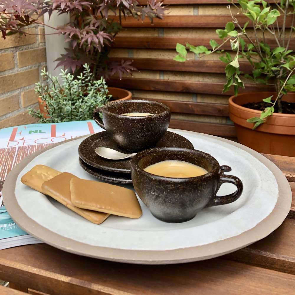 Kaffeeform, recycled coffee cup made of coffee