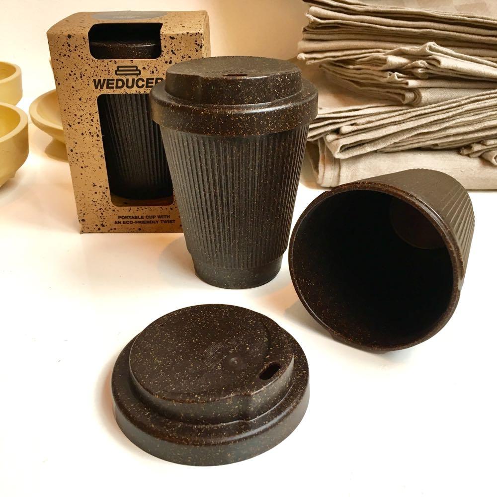 Kaffeeform, recycled coffee cup made of coffee, Weducer.