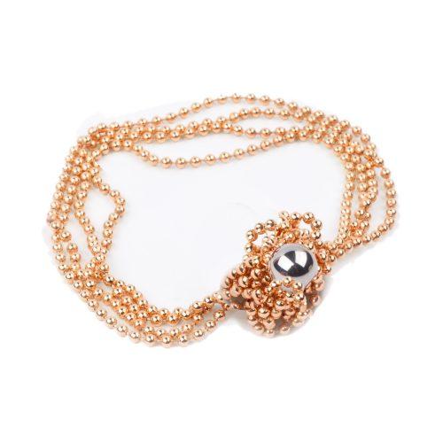 Rio magnet necklace, gold, Iris Weyer.