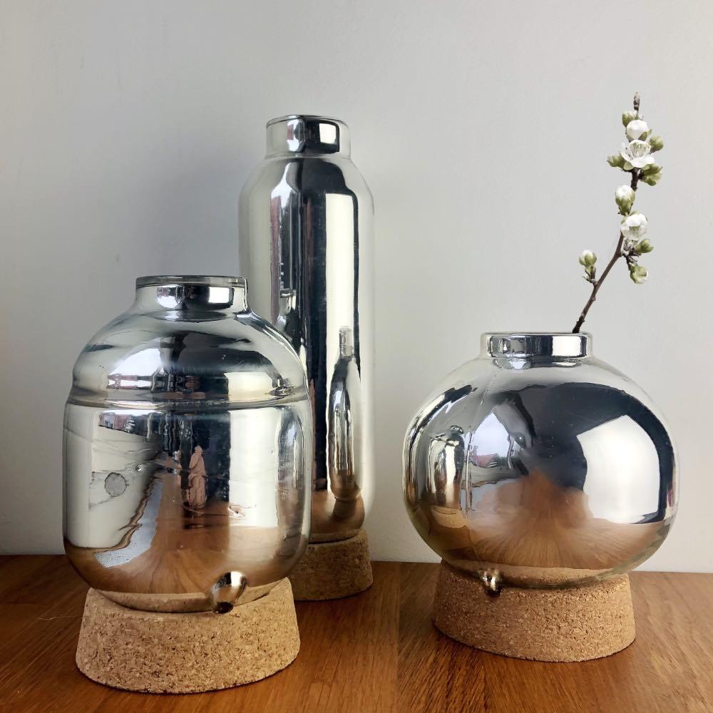 Flask vases set by David derksen