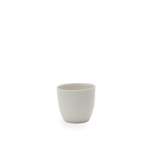 B-set beaker small white porcelain service by Hella Jongerius