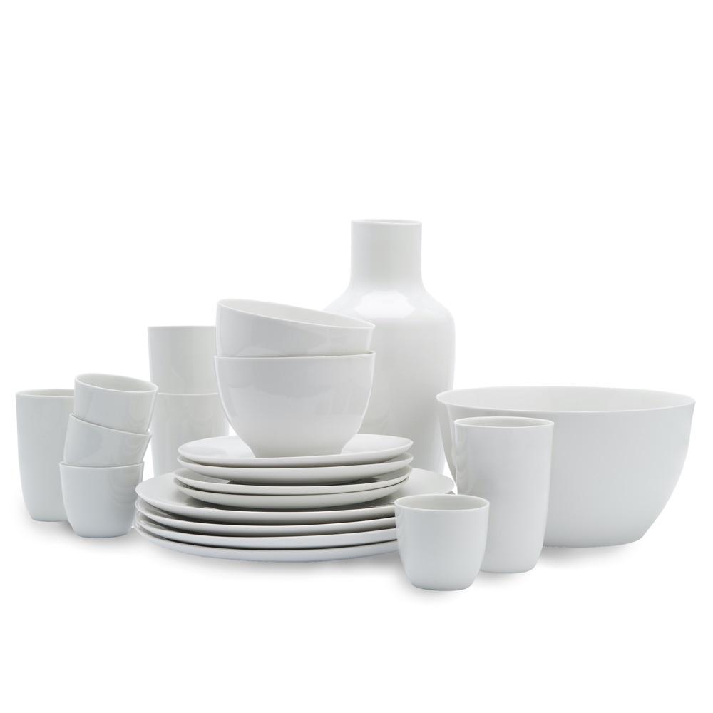 B-set white porcelain service by Hella Jongerius s