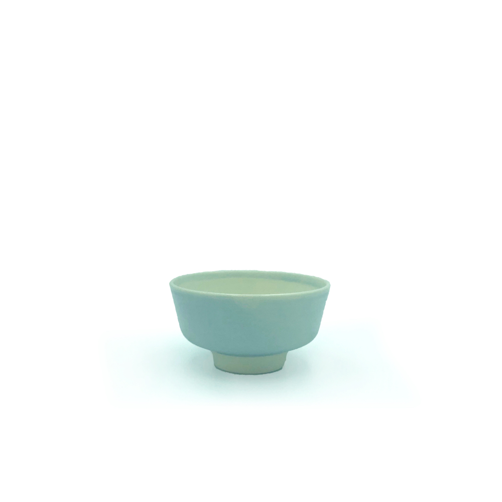 Nest bowls, cups, spoon by Juliette Warmenhoven.