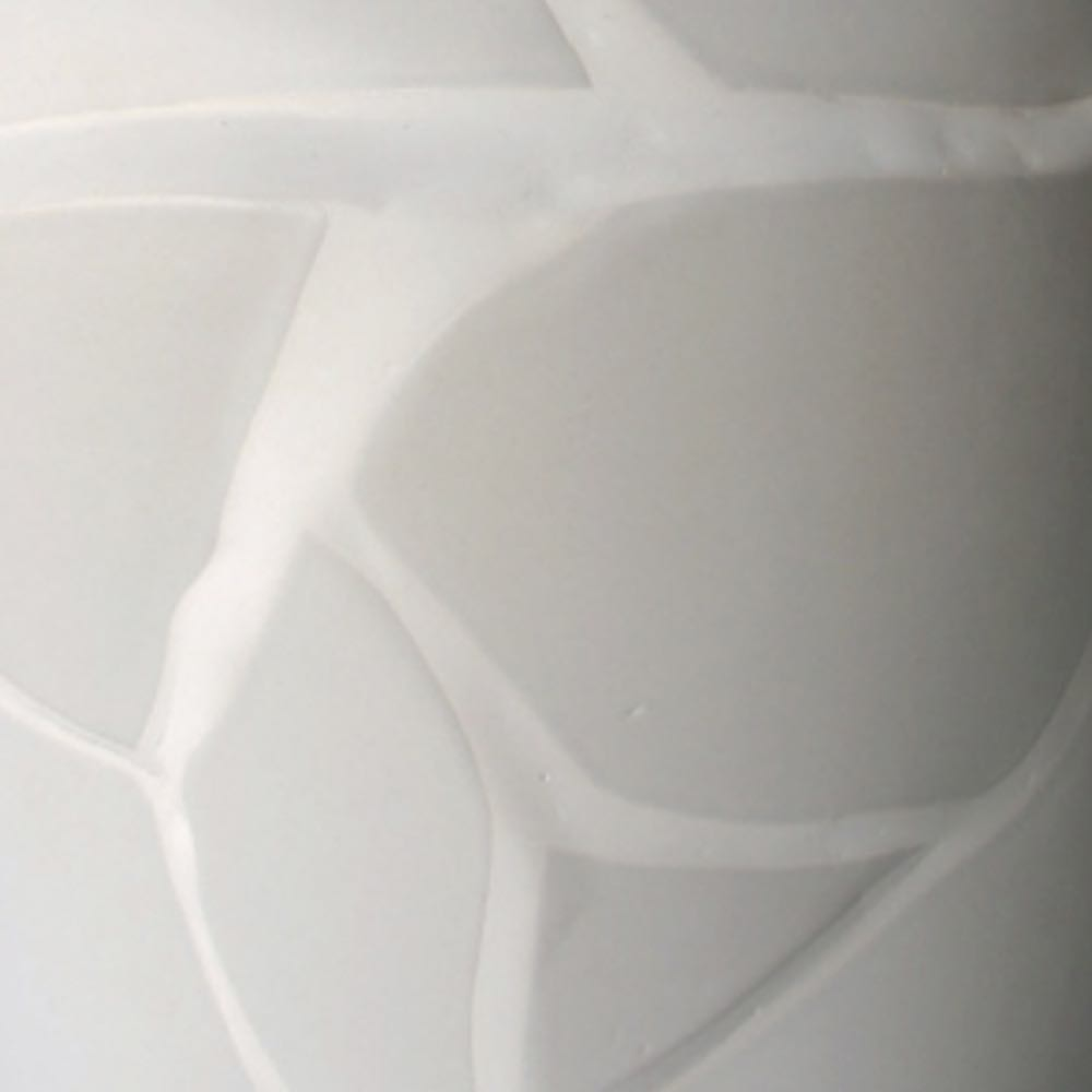 tectonic vase earthenware by humade, Cor Unum.