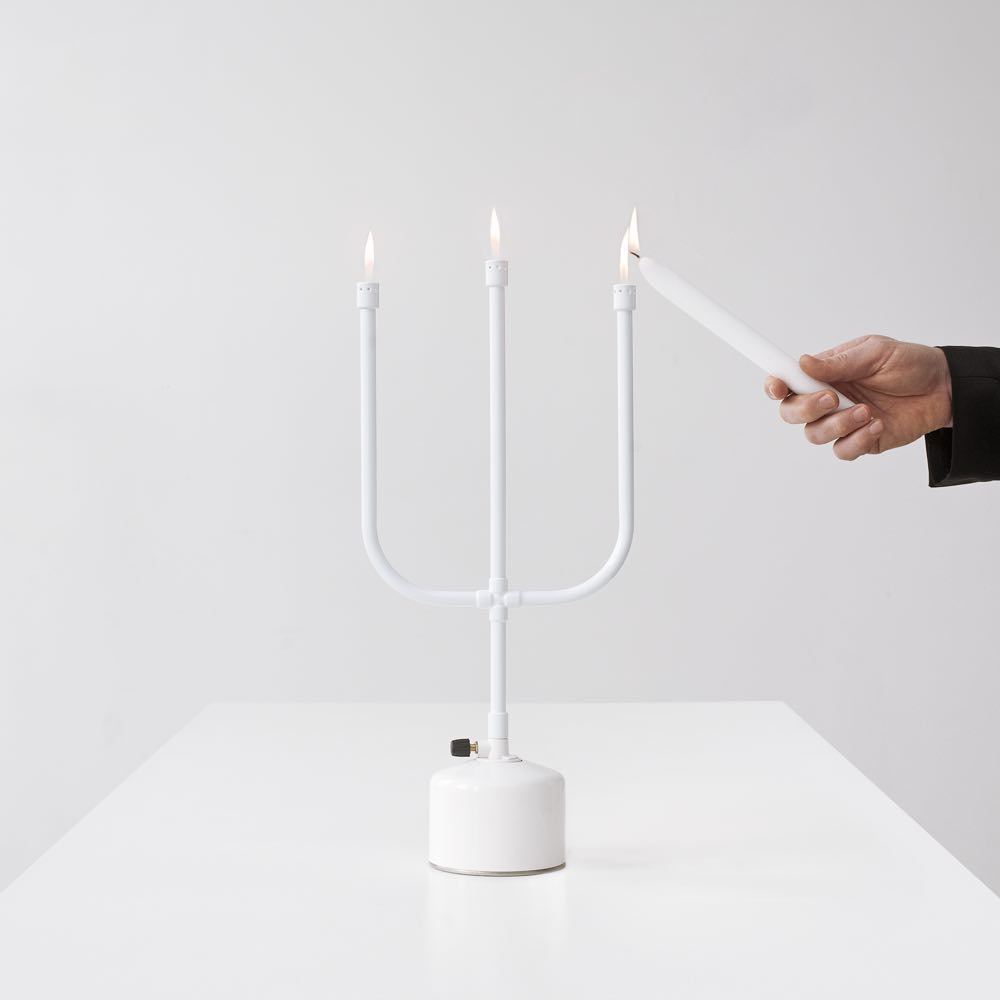 flames candelabra by chris kabel, Droog design.
