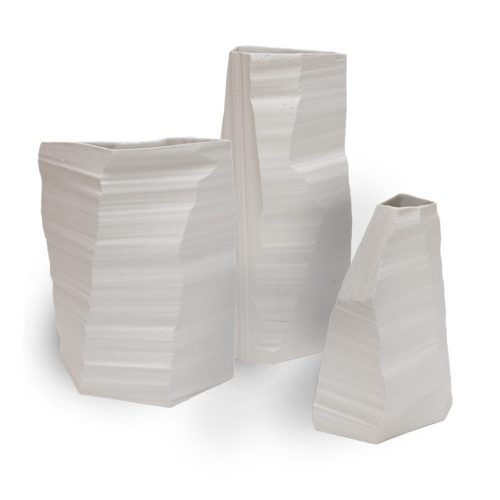 Above sea level vases by klaas kuiken, Cor Unum.