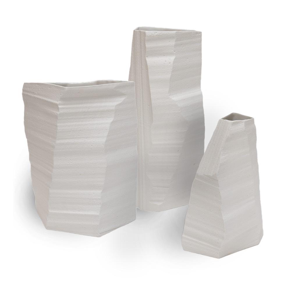 Above sea level vases by klaas kuiken, Cor Unum.