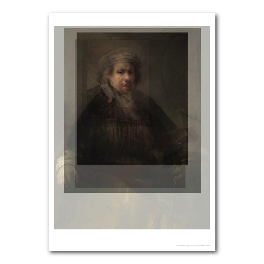 Rembrandt photo collage, Merit de Jong.