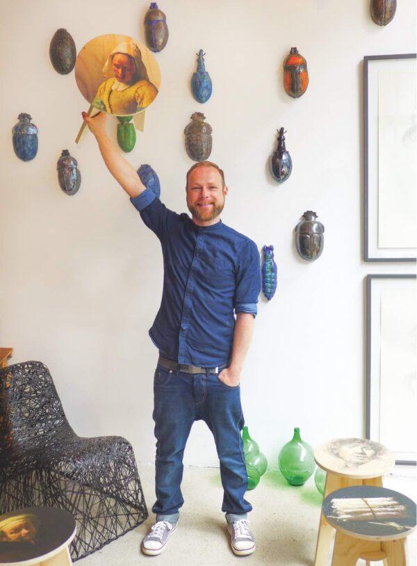 Arne leliveld at Matter .of material design store