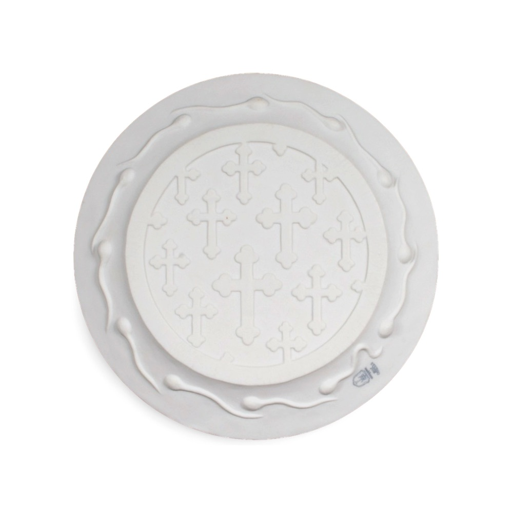 Biscuit plate Day-inday-out by Studio Job