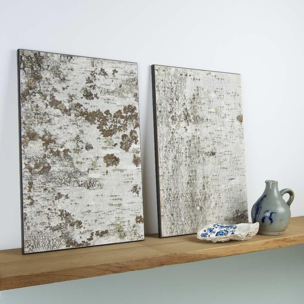 Moya Birch bark Wall panel Anastasiya Koshcheeva